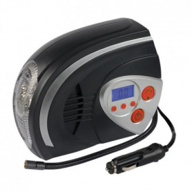 AUTOBEST Compresseur d'air Digital avec Lampe 12V 95W