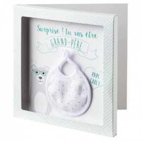 BABYCALIN Carte surprise + Enveloppe Grand-pere