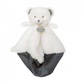 BABYNAT Doudou Pap'ours 25cm - blanc