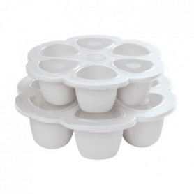 BEABA Multiportions silicone 6 x 90 ml light mist