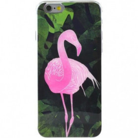 BIGBEN Coque tropical flamant - iPhone 6 / 6S