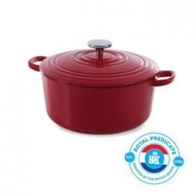 BK Cookware H6072.524 BK Bourgogne Cocotte en Fonte - Ronde - 24 cm