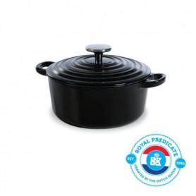BK Cookware H6071.520 BK Bourgogne Cocotte en Fonte Ronde - 20 cm