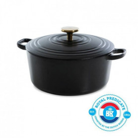 BK Cookware H6079.528 BK Bourgogne Cocotte en Fonte - Ronde - 28 cm