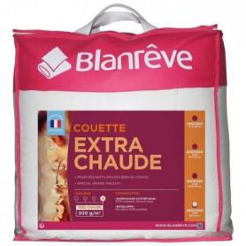 BLANREVE Couette en microfibre extra chaude - 240 x 260 cm - Blanc