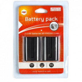 2 x batteries  NP-FM500H pour SONY - MP EXTRA