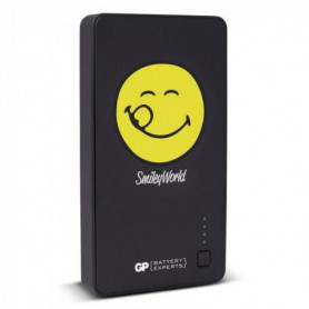Batterie de secours Noir Smiley 5 200 mAh