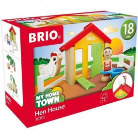 BRIO - My Home Town - Poulailler - Jouet en bois