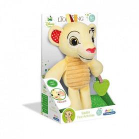 CLEMENTONI Disney Baby - Peluche Premieres activités Le Roi Lion