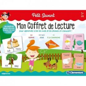CLEMENTONI Petit Savant - Mon coffret de lecture