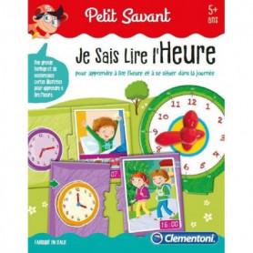 CLEMENTONI Petit Savant - Je sais lire l'heure