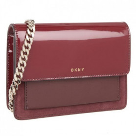 DKNY Sac brevet cuir petit R361060201 PATENT LEATHER grenat Femme