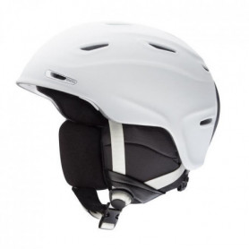 SMITH Casque de Ski Aspect Mixte - Blanc