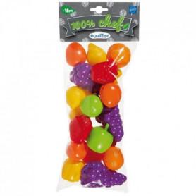 ECOIFFIER - 89 - Sachet fruits 22 pieces