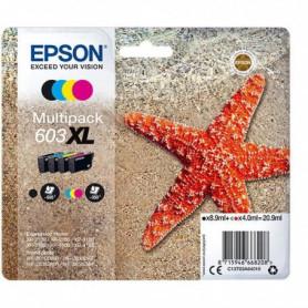 EPSON Cartouche d'encre Multipack 4 couleurs 603XL Ink - NCMJ