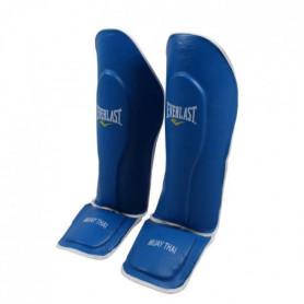 EVERLAST Proteges Tibias - Bleu 10 - Taille unique