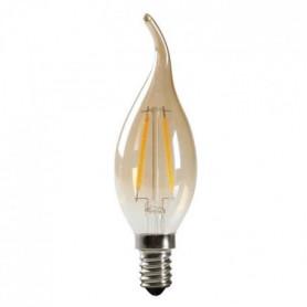 EXPERTLINE Ampoule LED filament ambrée E14 2 W équivalent a 23 W