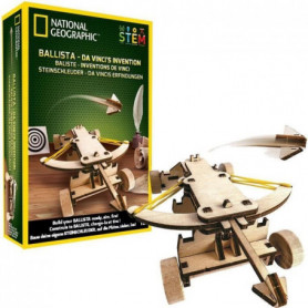NATIONAL GEOGRAPHIC - Les inventions De Vinci - baliste