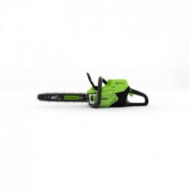 GREENWORKS Tronçonneuse électrique GD60CS40K2 - 60 V - 40 cm