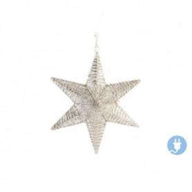 Étoile de Noël Suspendu mat en acier 46x12x54 cm