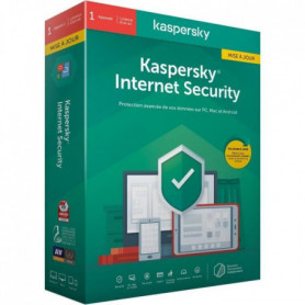 KASPERSKY Internet Security 2020 Mise à jour, 1 poste, 1 an