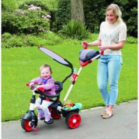 LITTLE TIKES Tricycle Evolutif 4 en 1 Sports Edition Rouge/Blanc
