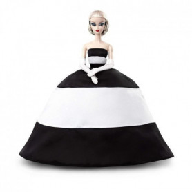 Barbie - Barbie Splendide En Noire Et Blanc - 18 ans et +