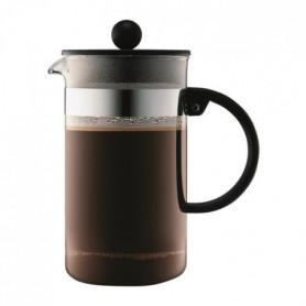 BODUM BISTRO Cafetiere piston 8 tasses/1L noir