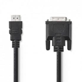 NEDIS CCGP34800BK30 Câble HDMI™ vers DVI - Noir