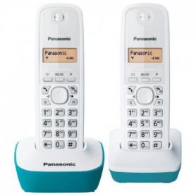 Panasonic KX-TG1612FRC Duo Téléphone Sans Fil Sans Répondeur