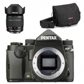 PENTAX Reflex KP Noir - 24Mpx + Objectif 18-55mm WR + Sacoche