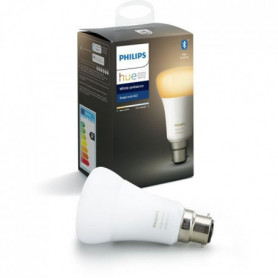 PHILIPS HUE Ampoule White Ambiance - 9,5 W - B22 - Bluetooth