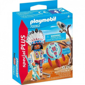 PLAYMOBIL 70062 - Chef de tribu autochtone