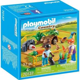 PLAYMOBIL 70137 - Enfants avec petits animaux