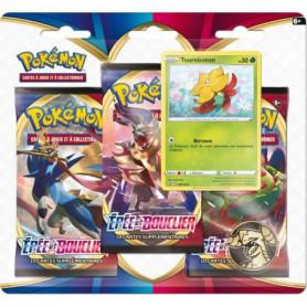 POKEMON Epée & Bouclier Pokémon Day - Pack 3 boosters TOURNICOTON