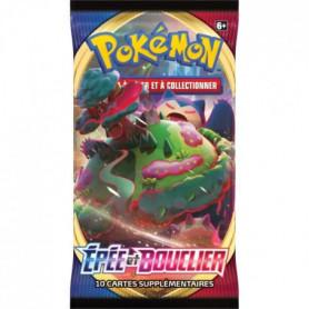 POKEMON Epée & Bouclier 1 - Booster (10 cartes Pokémon) - aléatoire