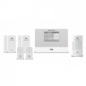 NEW DEAL Alarme maison sans fil connectée GSM avec accessoires
