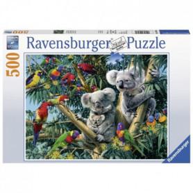RAVENSBURGER Puzzle 500 p - Koalas dans l'arbre