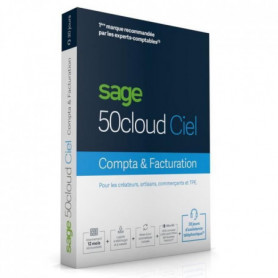 SAGE 50cloud COMPTA+FACTURATION - 30 jours