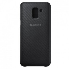 Samsung Etui Flip Wallet J6 - Noir