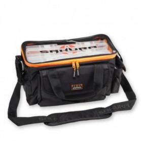 SAKURA Musette avec 3 boîte Carrybox - Orange et noir