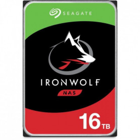 SEAGATE IronWolf 16To 7200rpm SATA 256GB Cache