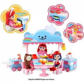 RAINBOW RUBY Set de Jeu Complet Cuisine Mobile et figurine Ruby