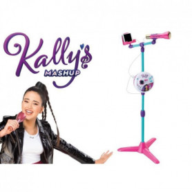 SMOBY Kally's Mashup Microphone Sur Pied