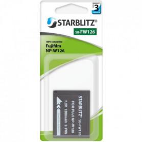 STARBLITZ SB-FW126 Batterie compatible Fujifilm