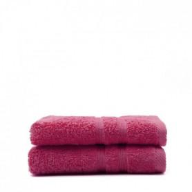 TODAY Lot de 2 Serviettes de toilette Jus de myrtille - 50x100 cm
