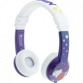 BUDDYPHONE Casque filaire Moomins - Violet et blanc