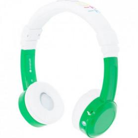 BUDDYPHONE Casque filaire InFlight - Vert et blanc