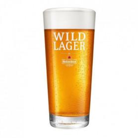 Heineken - Verre - Wild Lager - 25 cl