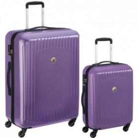DELSEY Lot de 2 Valises Trolley Namies 55 + 76 4 Roues TSA